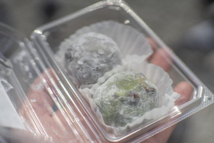 京都展京菓子処吉廼家の豆大福