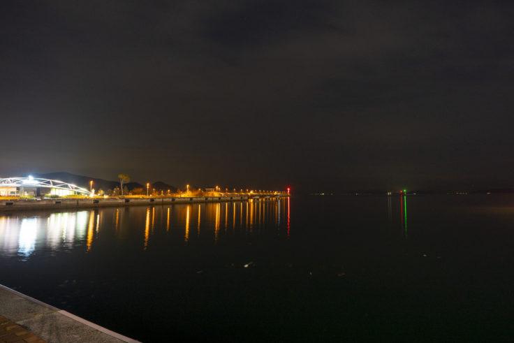 高松港から見たせとしるべ