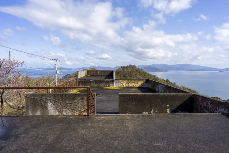 日盛山廃墟から見た瀬戸内海3