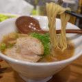 高松市のラーメン「一完歩」で煮干しそば、旨辛ラーメン