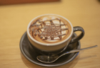 むさしの森珈琲のカフェモカ