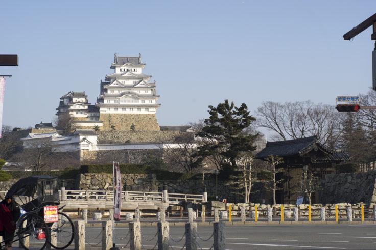 早朝の姫路城