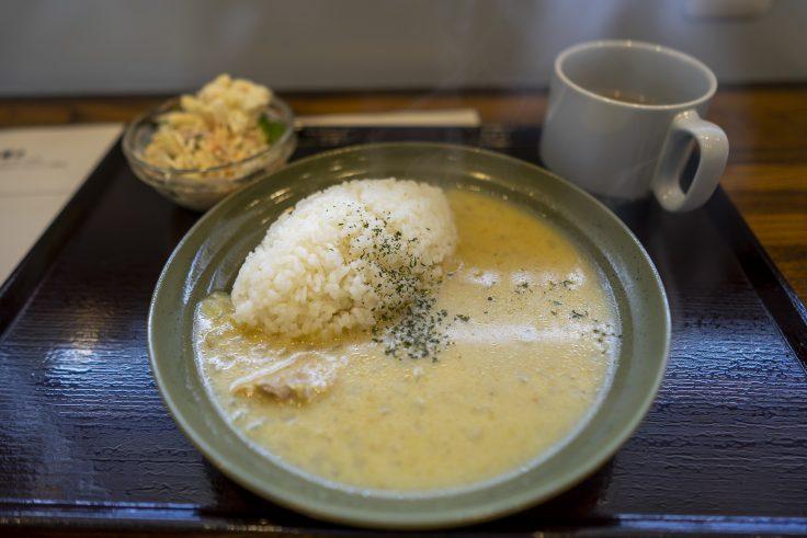 喫茶ichikaのイエローカレー