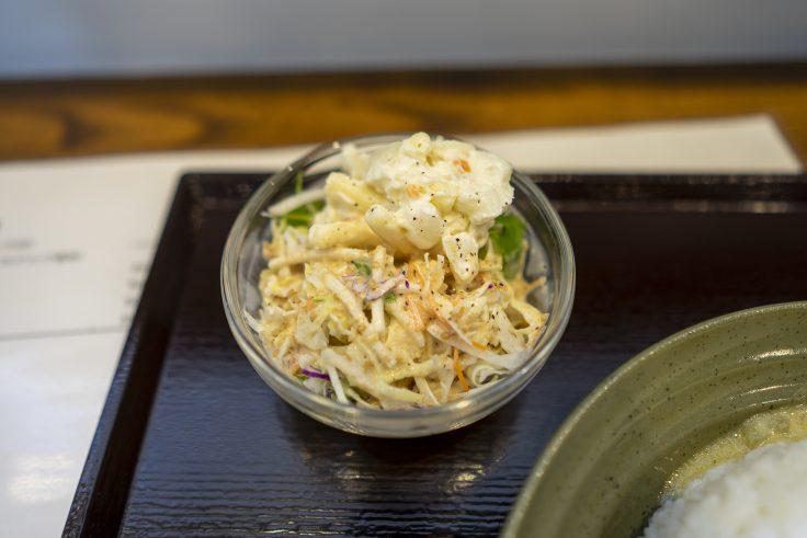 喫茶ichikaのランチにつくサラダ
