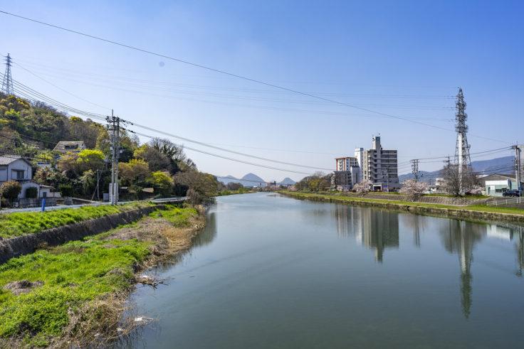 香東川の橋