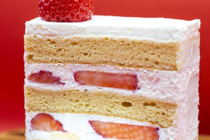 菓子屋キノシタのイチゴのショートケーキ2