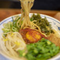 ぜいたくラーメン福一 勅使店の『台湾まぜそば』と『冷麺』