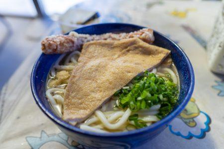 讃岐製麺所のかけうどん