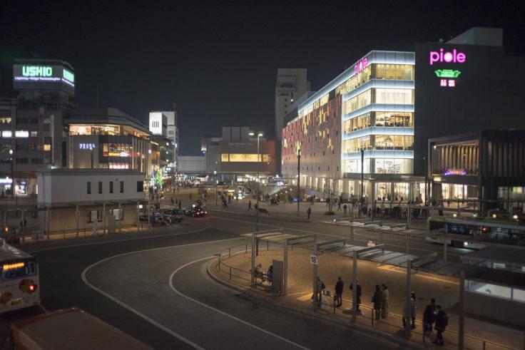 姫路市街地夜景