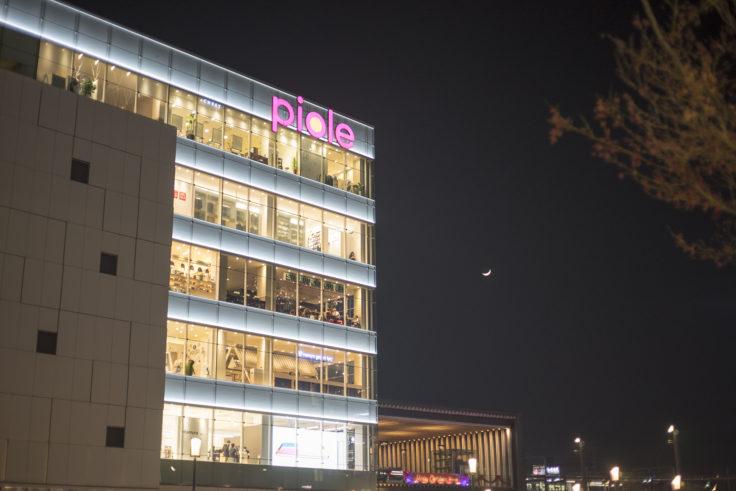 姫路ピオレ外観夜景