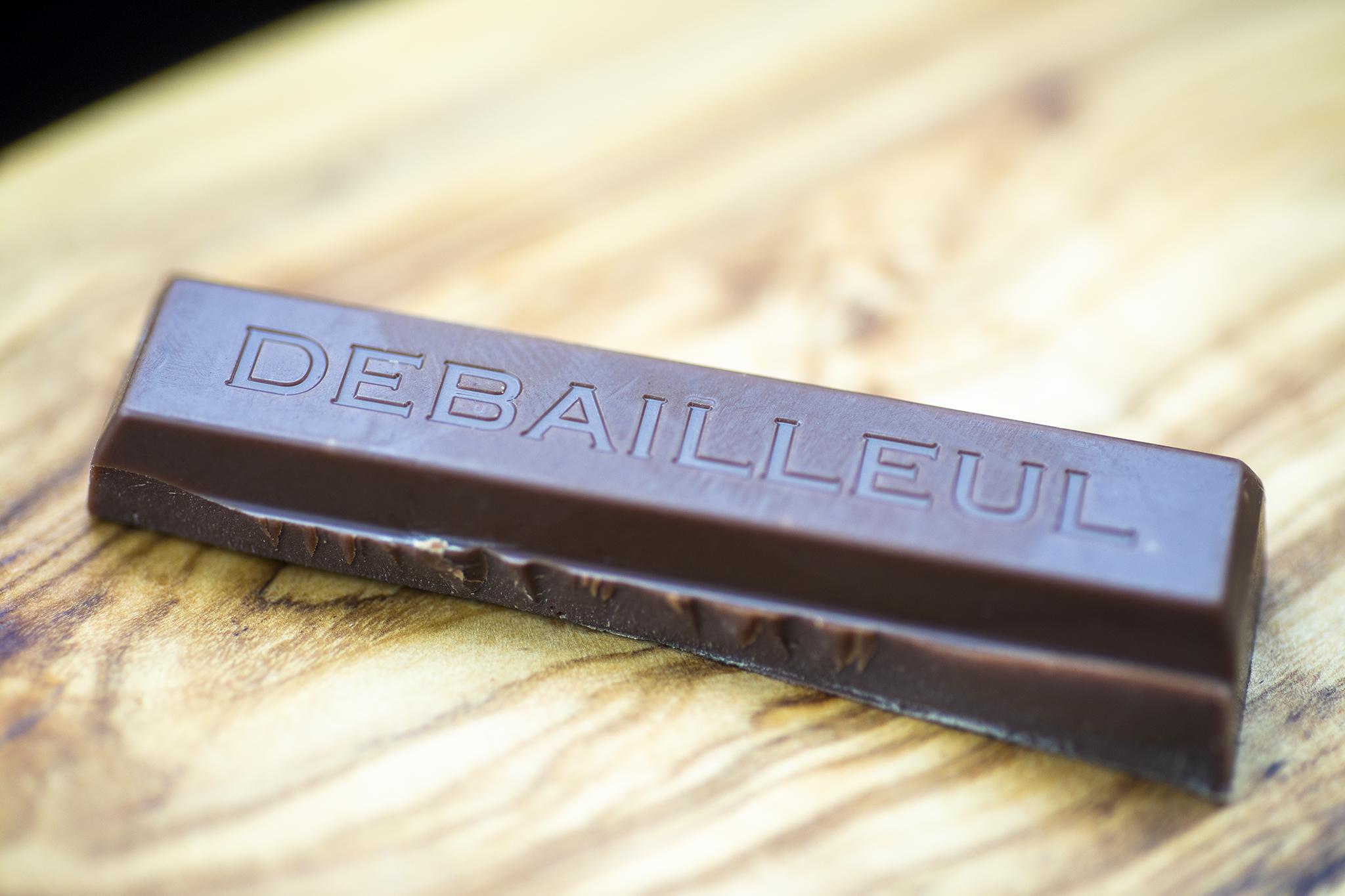 ドゥバイヨルのタブレットチョコレート「マダガスカル/ペルー」