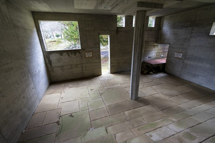 椿の城内部