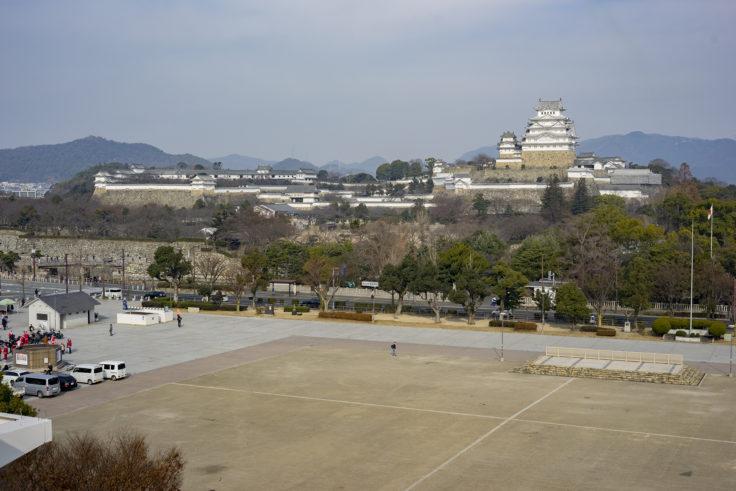 イーグレひめじから見た姫路城