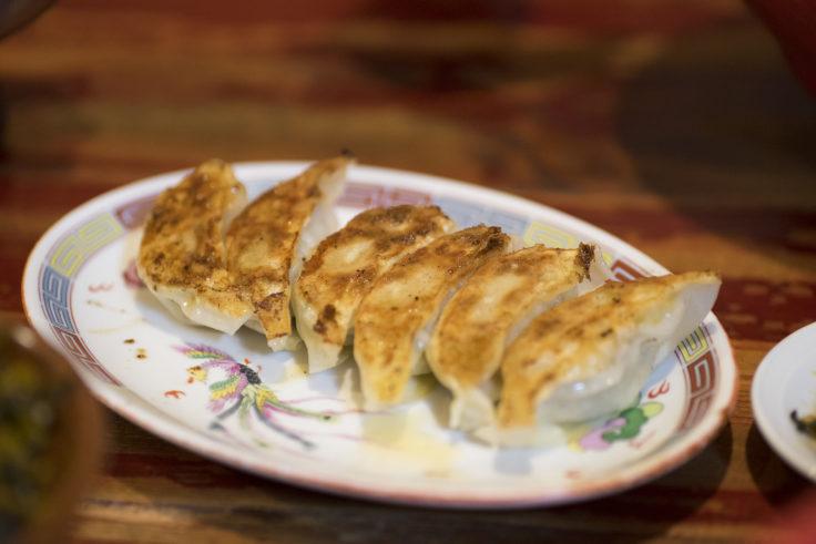 ラー麺ずんどう屋の餃子