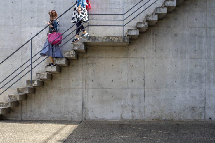 「ベネッセハウス ミュージアムのコンクリート
