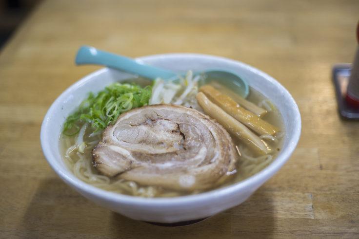 てっちゃんの中華そば「ラぅ飩チャーシュー麺」