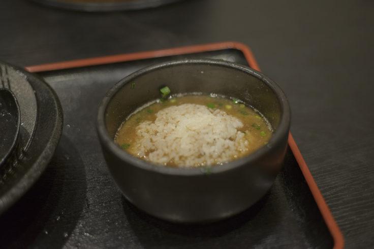 裏きせきの瀬戸内つけ麺追加飯