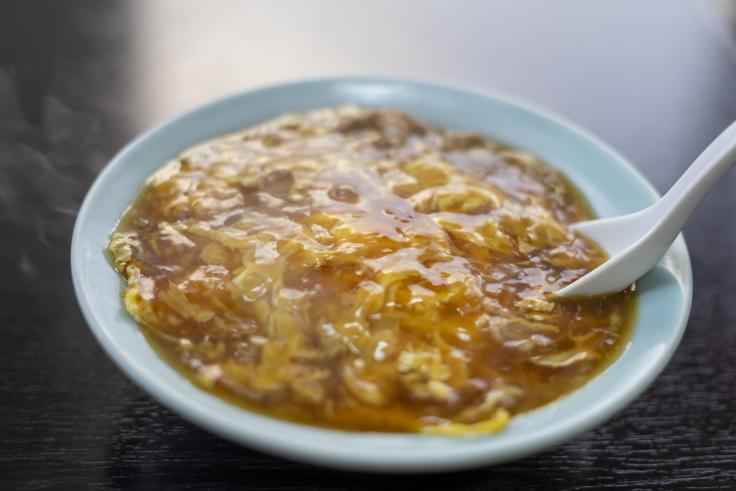 大珉の天津飯
