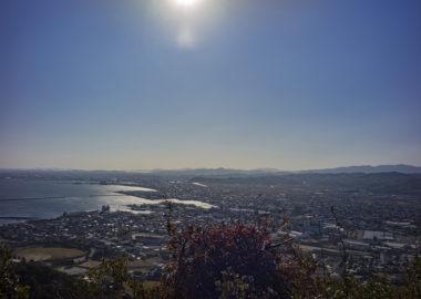 日峰神社から見た海