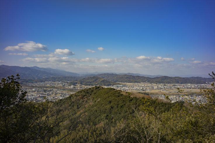日峰神社からの眺め