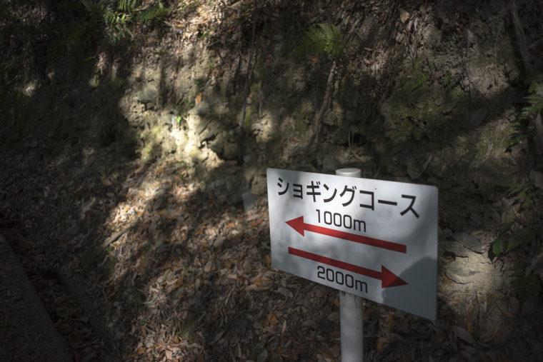 ショギングコース標識