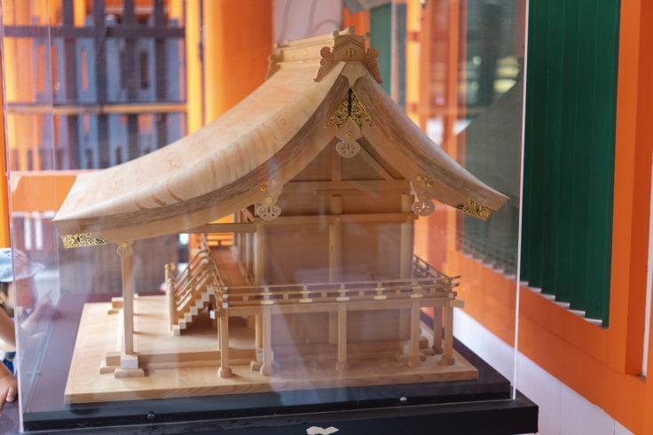 上賀茂神社模型