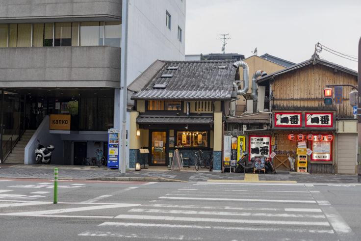 高野麦酒店TAKANOYA外観