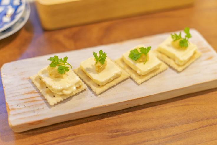 高野麦酒店のチーズ