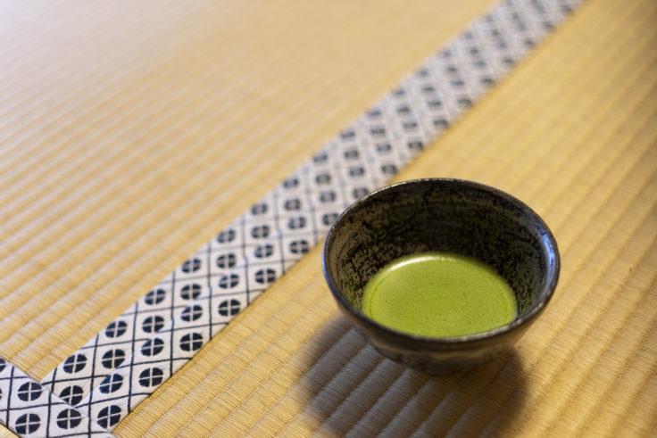 高山寺のお茶