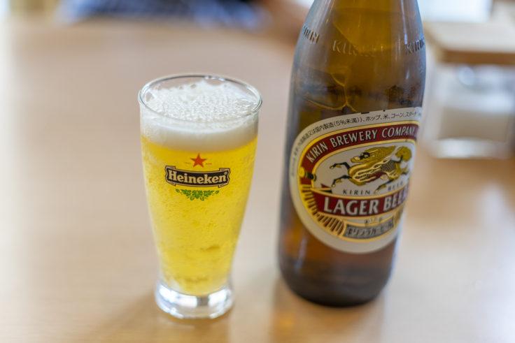 アララでビール