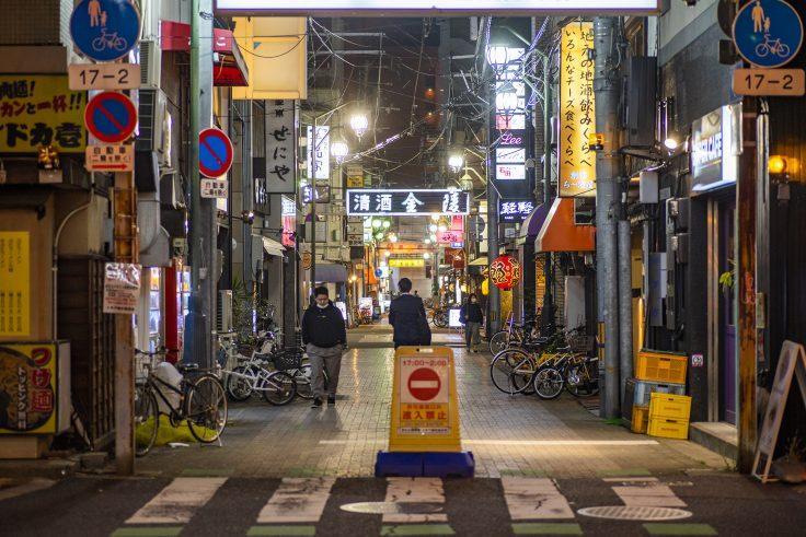 高松市夜景スナップトキワ新町