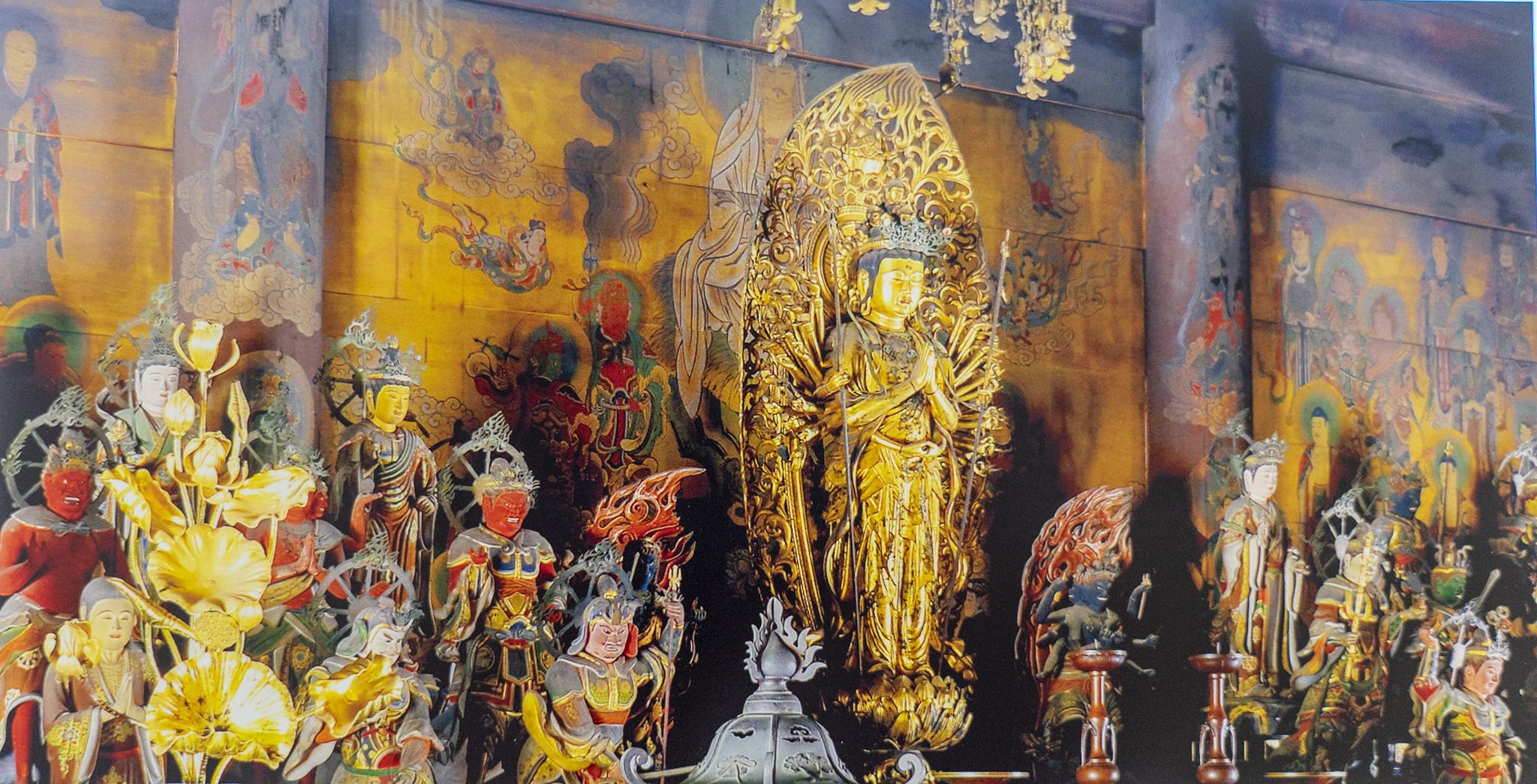 「仁和寺」観音堂特別内観をして観音様とつながってきた。