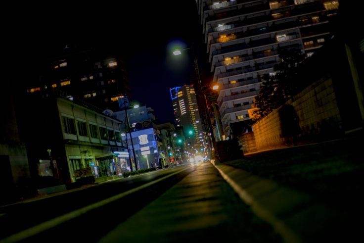 番町から見た高松シンボルタワー