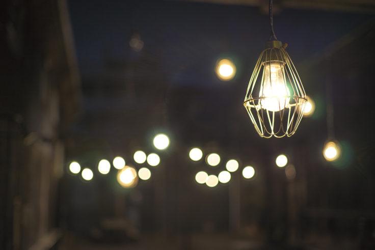 北浜alleyのライト