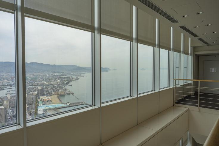 高松シンボルタワー30階からの眺め2