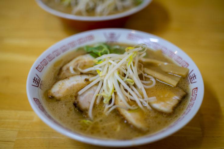 中華そば西食のチャーシュー麺