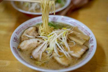 中華そば西食のチャーシュー麺リフトアップ