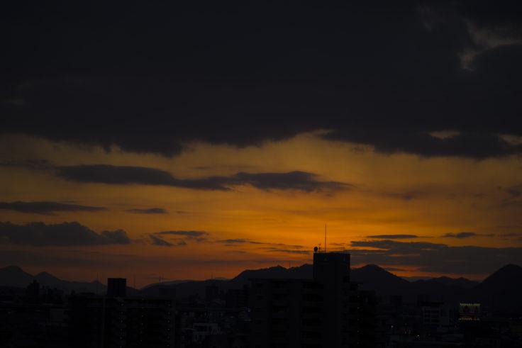 夜の始まり