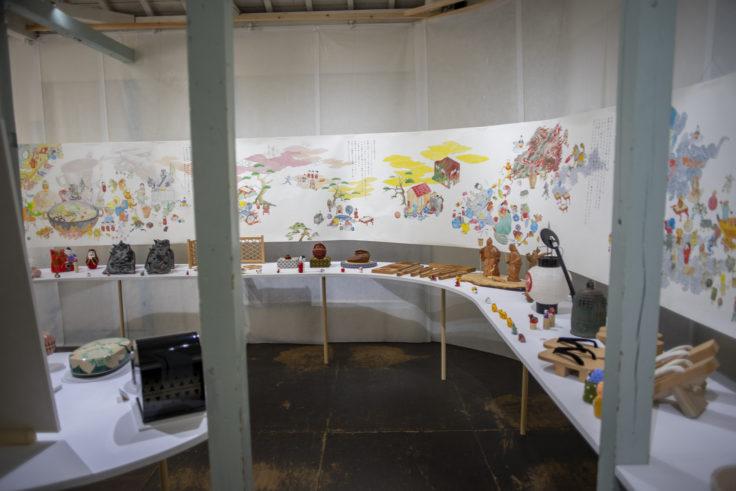 北浜の小さな香川ギャラリー 香川漆芸3