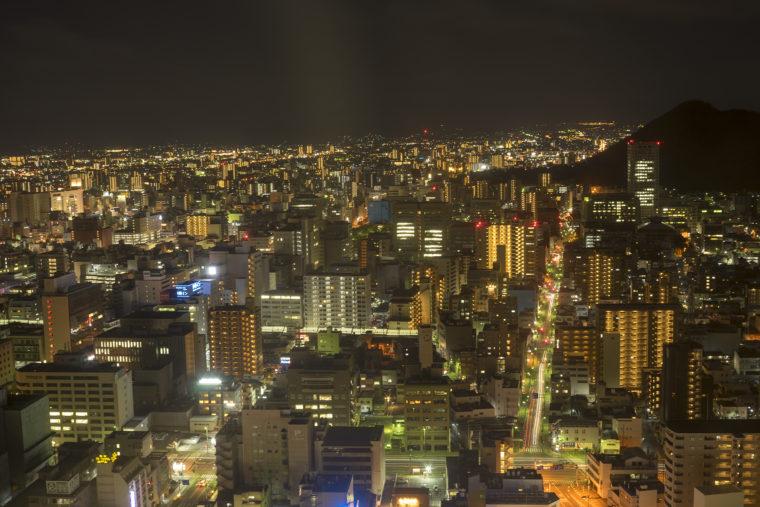 高松シンボルタワーからの夜景