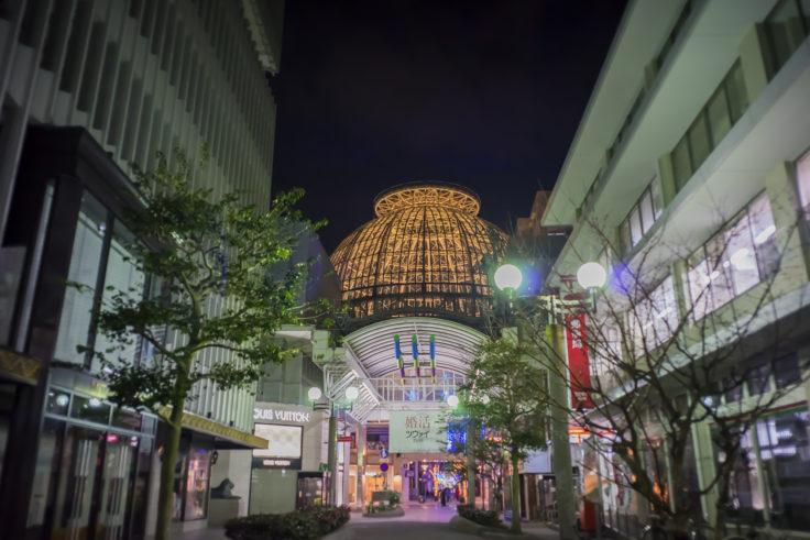 丸亀町商店街入り口