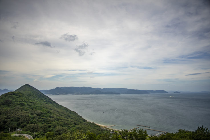 女木島山頂からの瀬戸内海