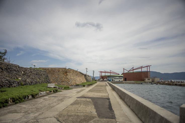 女木島の石垣