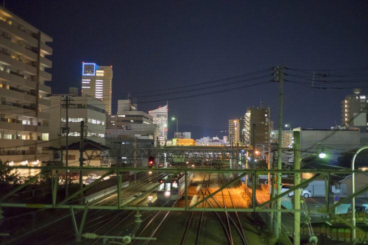 瀬戸内町から見た高松シンボルタワー