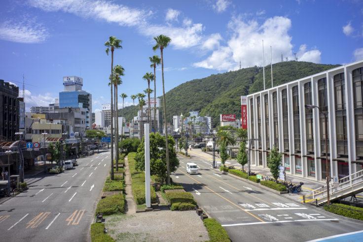 徳島駅前反対側