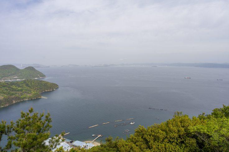 またきまいから見た瀬戸内海