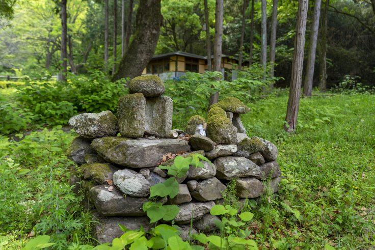 神谷神社のほこら