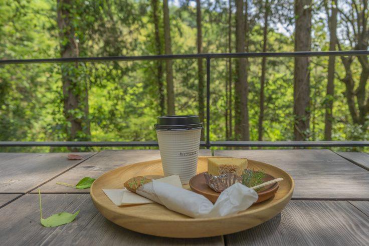 キトクラスカフェのコーヒーとバウム