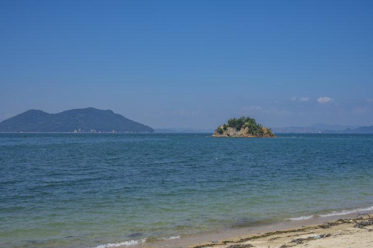大島の海岸