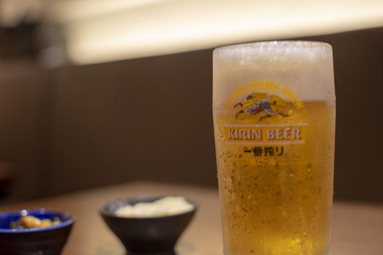 孫兵衛の生ビール